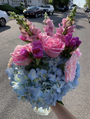$85 Seasonal Fresh Flower Vase Arrangement