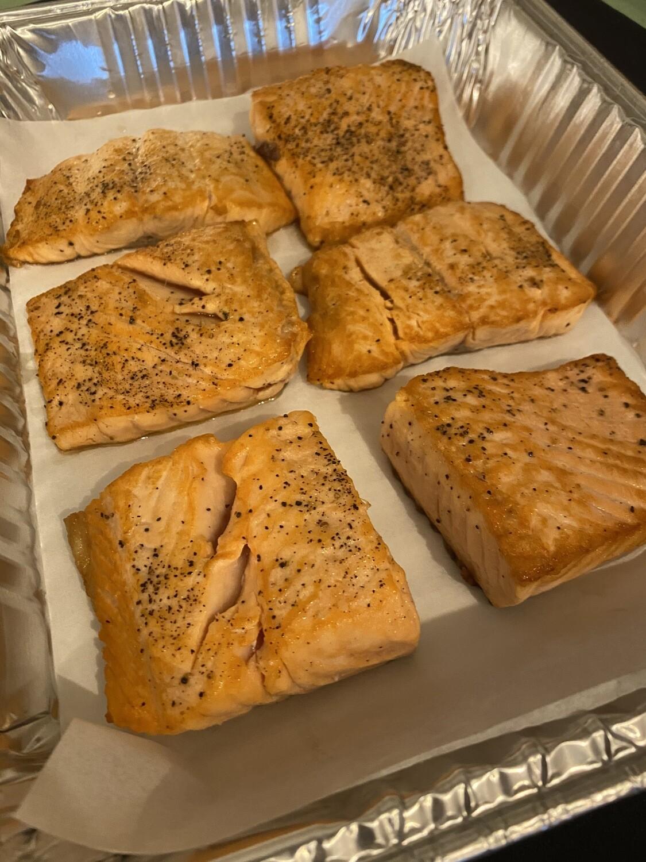 Lemon Caper Salmon - 6 Servings