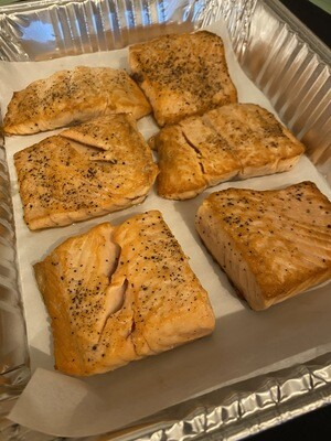 Lemon Caper Salmon - 6 Servings