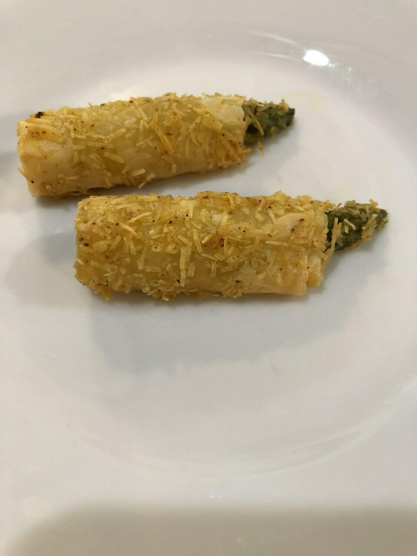 Crispy Asiago Asparagus - 12