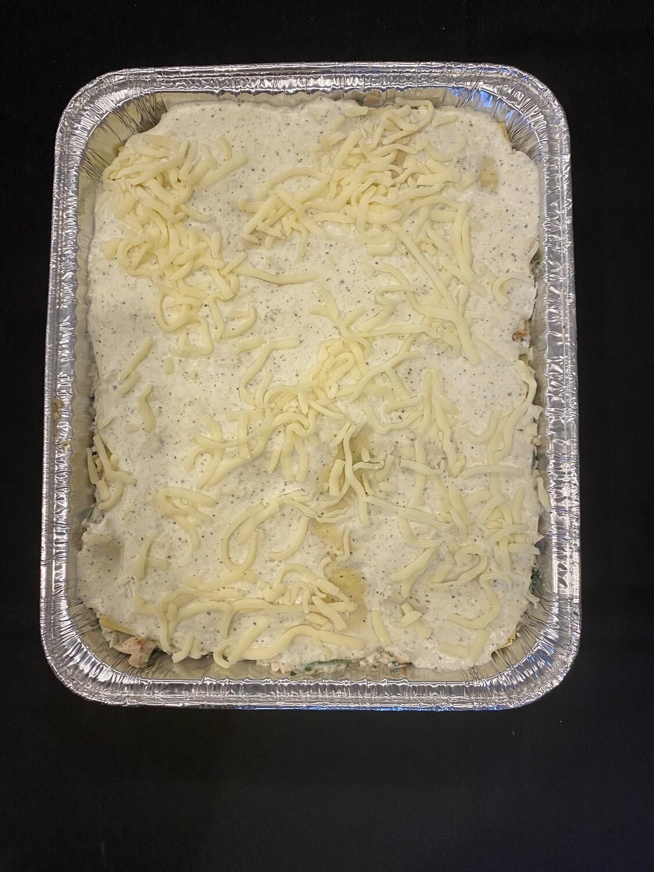 White Wine Chicken Lasagna