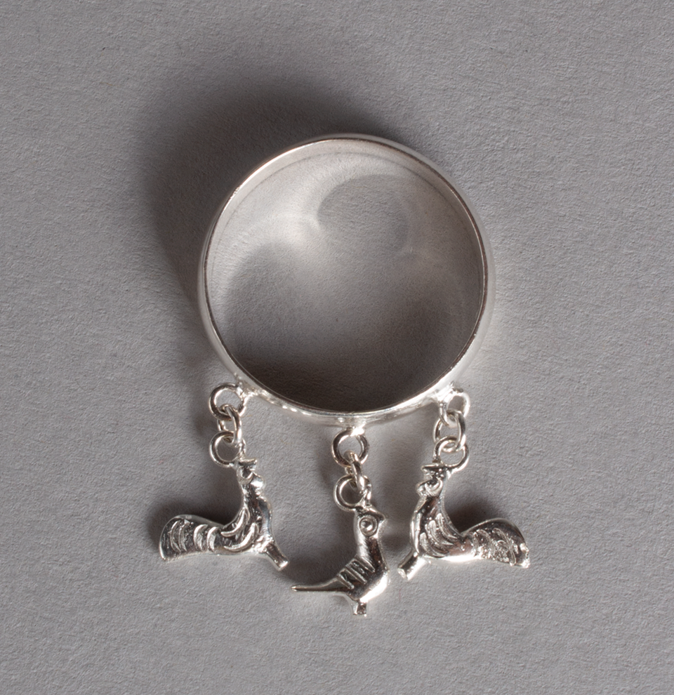 Silver Ring Turkeys & Pigeon