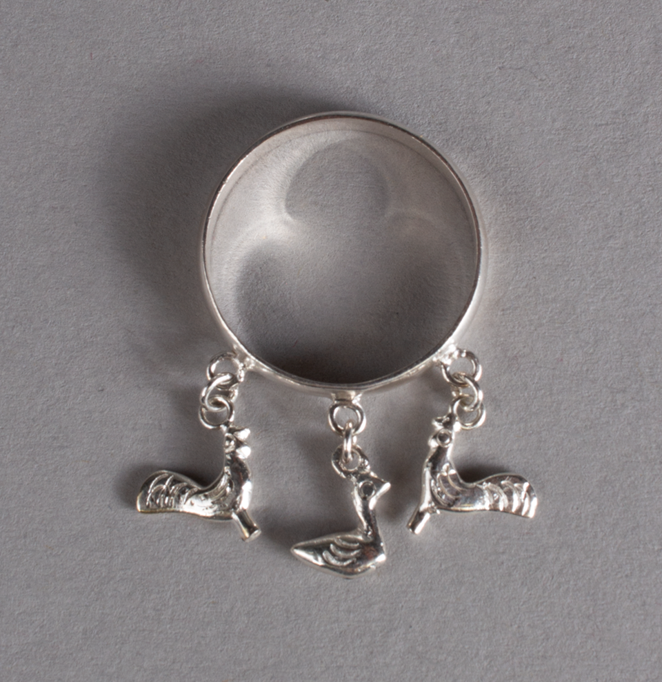 Silver Ring Roosters & Duck