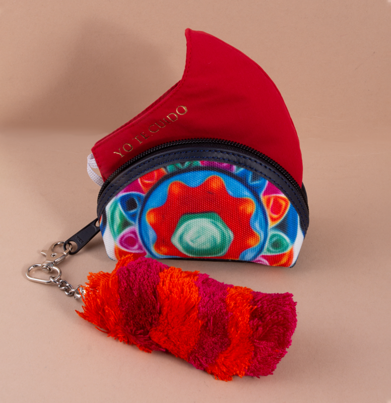 Printed Fabric Coin Wallet KIT 4