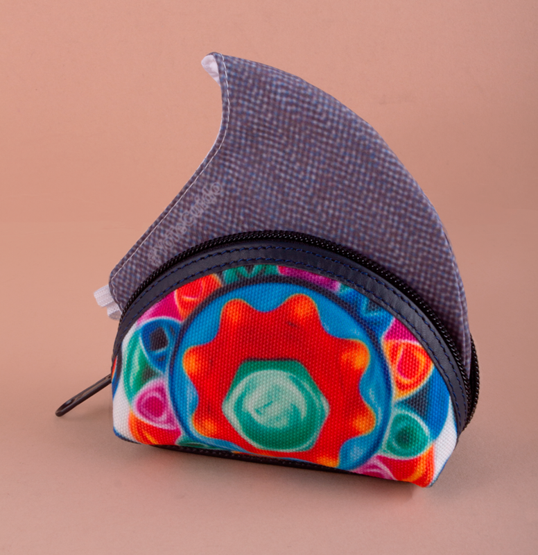 Printed Fabric Coin Wallet KIT 6