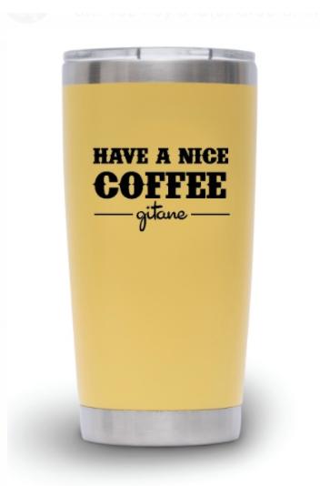 Tumbler Gitane - Waterbear® Have a Nice Coffee