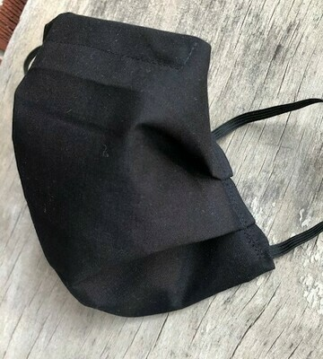 Non Medical Face Mask Black   Unisex