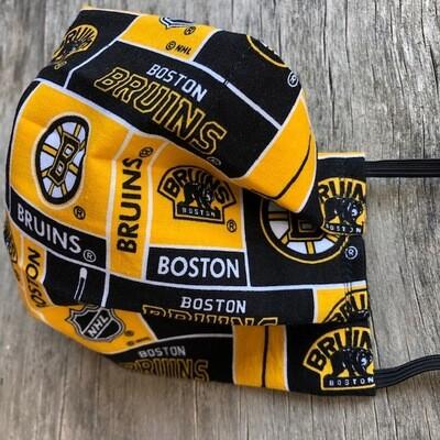 Ladies X-Large or Men's Large Non Medical Face Mask  Boston Bruins!