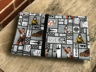 Star Wars Pillow Case Grey