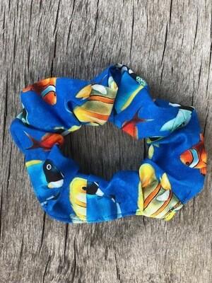 Hair Scrunchies     Swimming Fish