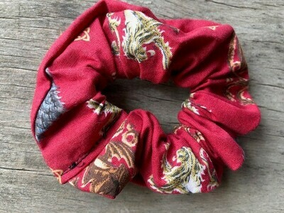 Hair Scrunchies    Game of Thrones on Red