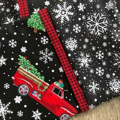 Red Christmas Truck  Pillowcase!