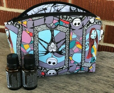 Nightmare Before Xmas Essential Oil or Make Up Bag