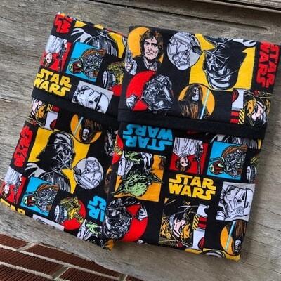 Star Wars Pillow Case Set in Flannel