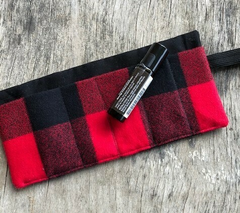 Roller Ball Wrap    Black & Red Mammoth Plaid