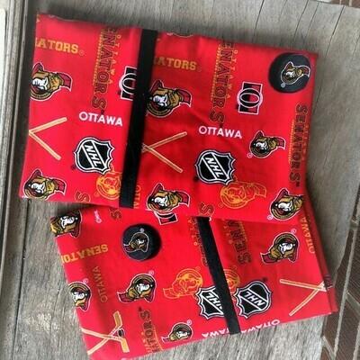 Ottawa Senators Flannel Pillowcase Set