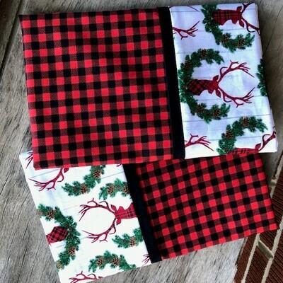 Christmas Deer  Pillowcase Set