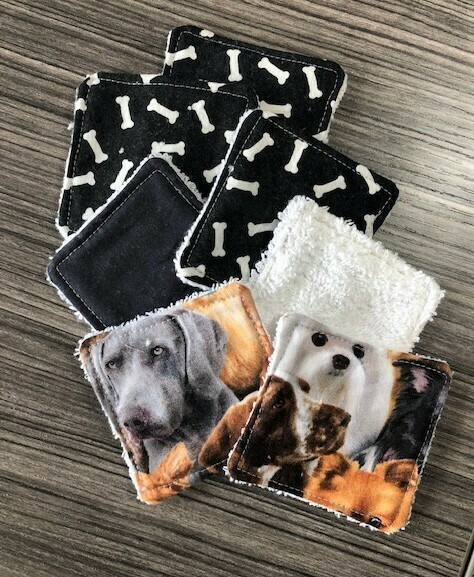 Facial Wipes  Re-Usable   Dogs & Paws