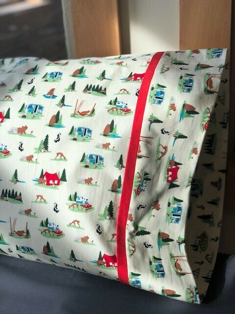 Woodsy Camper Pillowcase!