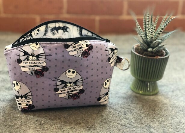 Nightmare Before Xmas Essential Oil or Make Up Bag