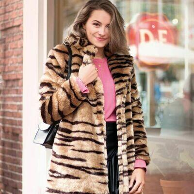 Zebra print Jacket - My Jewellery MJ02316