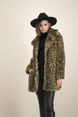 Tijgerprint jas Fluvvy Coat Jevi Catwalk Junkie