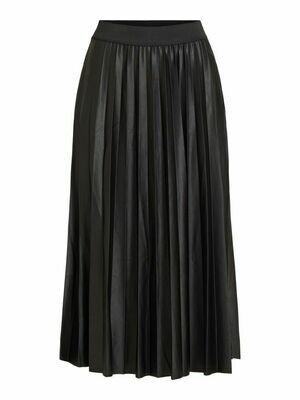 14063241 Black Vinitban skirt - Vila