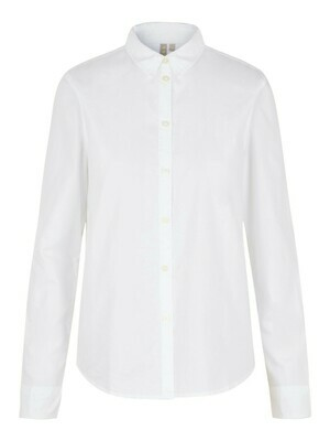 17087952 Bright White PCirena oxford shirt - Pieces