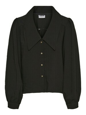 27016969 BLACK NMCeren l/s shirt - Noisy May