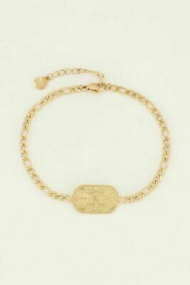 MJ04462 goud/gold Armband Lucky Charm-My Jewellery