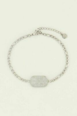 MJ04462 zilver Armband Lucky Charm-My Jewellery