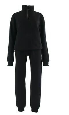 61334 black Comfy Suit - Ambika