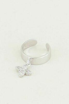 MJ02667 zilver ear cuffs - My Jewellery