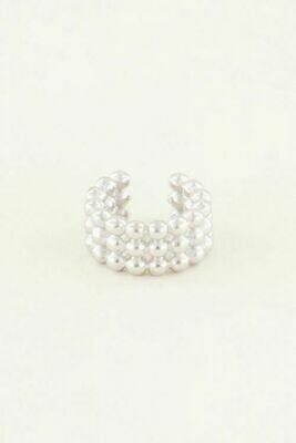 MJ03915 zilver ear cuffes - My Jewellery