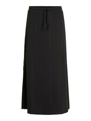 14054664 Black -  Videll maxi skirt -Vila