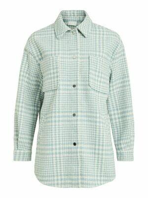 14061918 Ashley Blue Viceyla shirt - Vila clothes