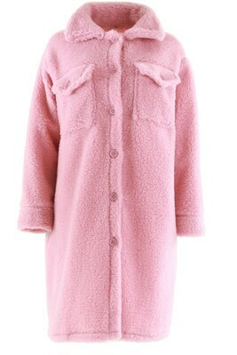 8800 rose Teddy coat - Ambika