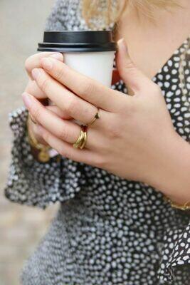 MJ00402 Goud Ring Met Klein Hartje-My Jewellery