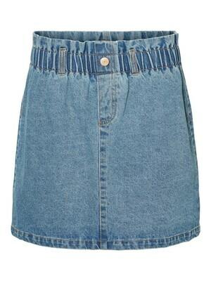 27010911 Medium Blue Denim NMJudo Papback Skirt- Noisy May