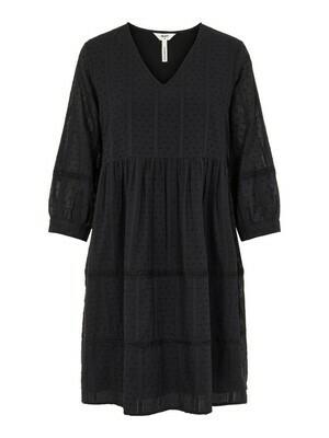 23034476 Black OBJGeillis 3/4 dress Object
