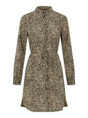 17110757 BLACK PCGilberta Dress - Pieces