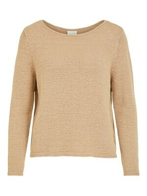 14059413 Nomad Visinoa Boatneck L/S knit -Vila