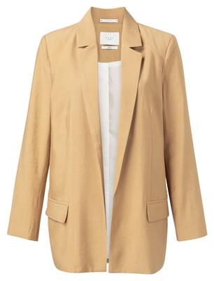 150154-014 Loose fit Blazer CROISSANT