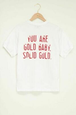 MJ05115 T shirt solid gold - My Jewellery