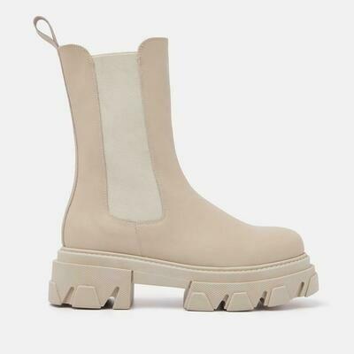 55.067 Chelsea boot - ecru - Lazamani