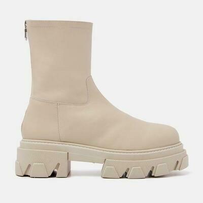Chelsea boot - ecru - Lazamani