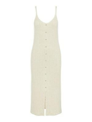 23035534 Mouwloze jurk OBJLucilla- Sandshell-Object