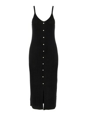 23035534 Mouwloze jurk OBJLucilla- Black-Object