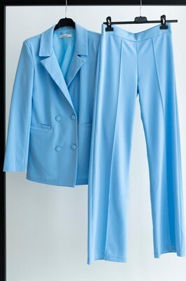 2318 Blazer bleu morgan