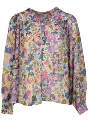 Stefanie Paisley blouse 10377 lila- Typival Jill